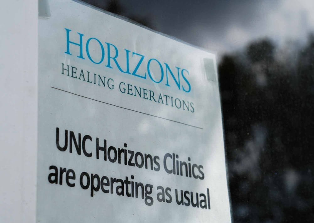 <p>The UNC Horizons Center is pictured on Aug. 26, 2021. The UNC Horizons Program plans to provide affordable housing for mothers affected by substance use disorders.</p>