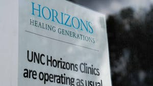 The UNC Horizons Center is pictured on Aug. 26, 2021. The UNC Horizons Program plans to provide affordable housing for mothers affected by substance use disorders.