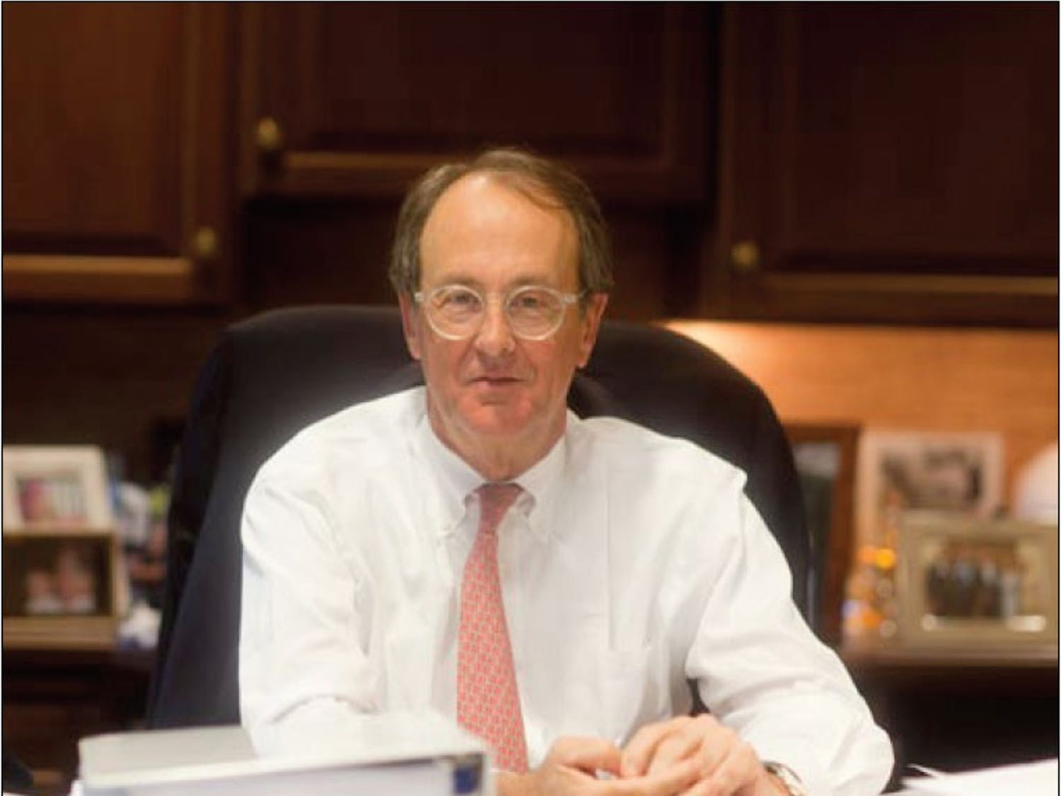 Bowles announced in February he would retire as UNC-system president after serving the system since 2006.DTH/Phong Dinh