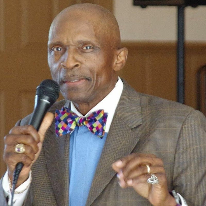 Rev. T. Anthony Spearman, the newly elected president of the North Carolina chapter of the North Carolina National Association for the Advancement of Colored People. N.C. Photo courtesy by N.C NAACP