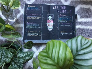 """UNC junior Kayla Dang started making YouTube videos to share her bullet journal process in 2019 under the username """"DangItsKayla."""" Photo courtesy of Kayla Dang."""