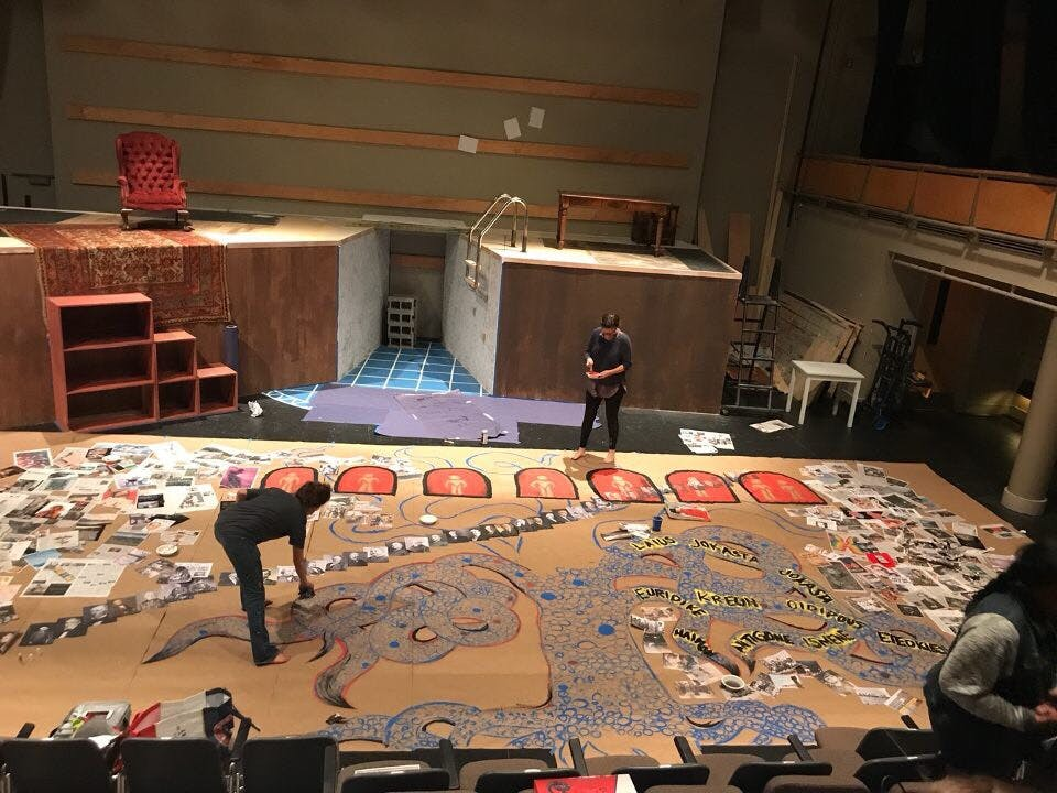 Kenan Theatre Company's 'Antigonick' gives an old story a modern spin