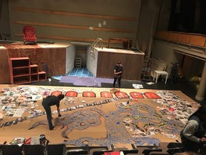 """The Kenan Theatre Company's production of """"Antigonick"""" will be performed at the Center for Dramatic Arts Thursday through Monday. Photo courtesy of Elizabeth Durham."""