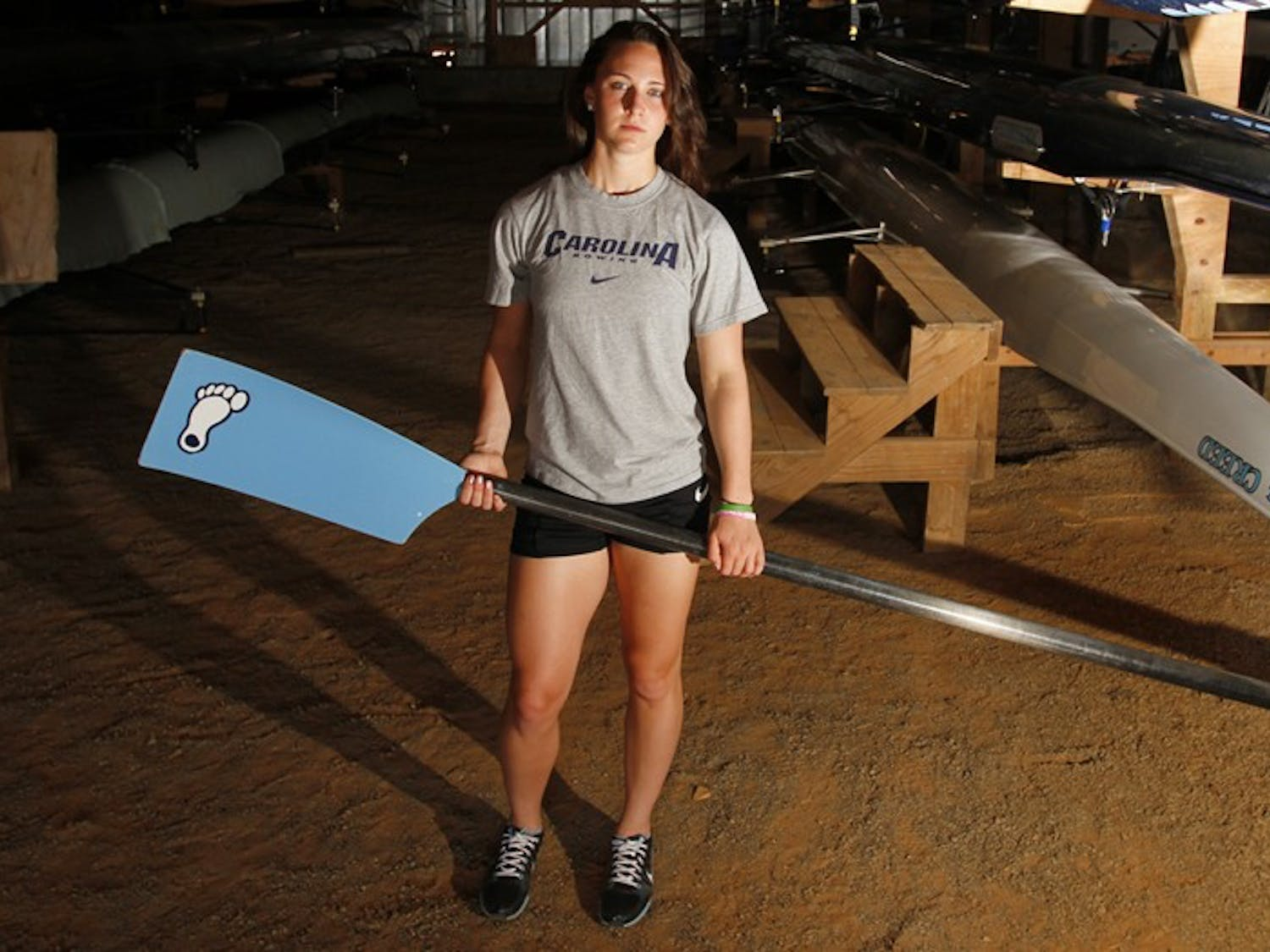 Like nearly half of the freshmen who join the UNC women's rowing team, Jasmine Dennis walked on without a scholarship. Four years later, Dennis will leave the program with a legacy.