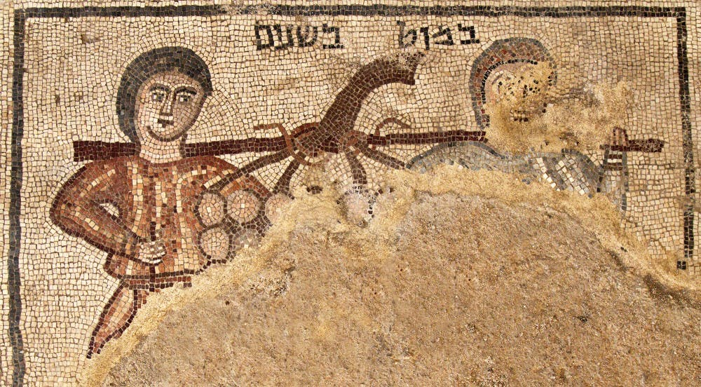 UNC archeologist uncovers a mosaic that makes ancient Jewish life more unclear