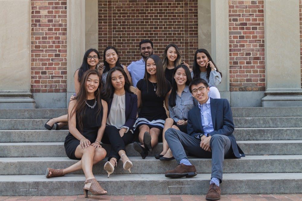 <p>Students behind the efforts to establish an Asian American Center on Sunday, Sept. 22, 2019. Photo courtesy of Liezel Alipio. &nbsp;</p>