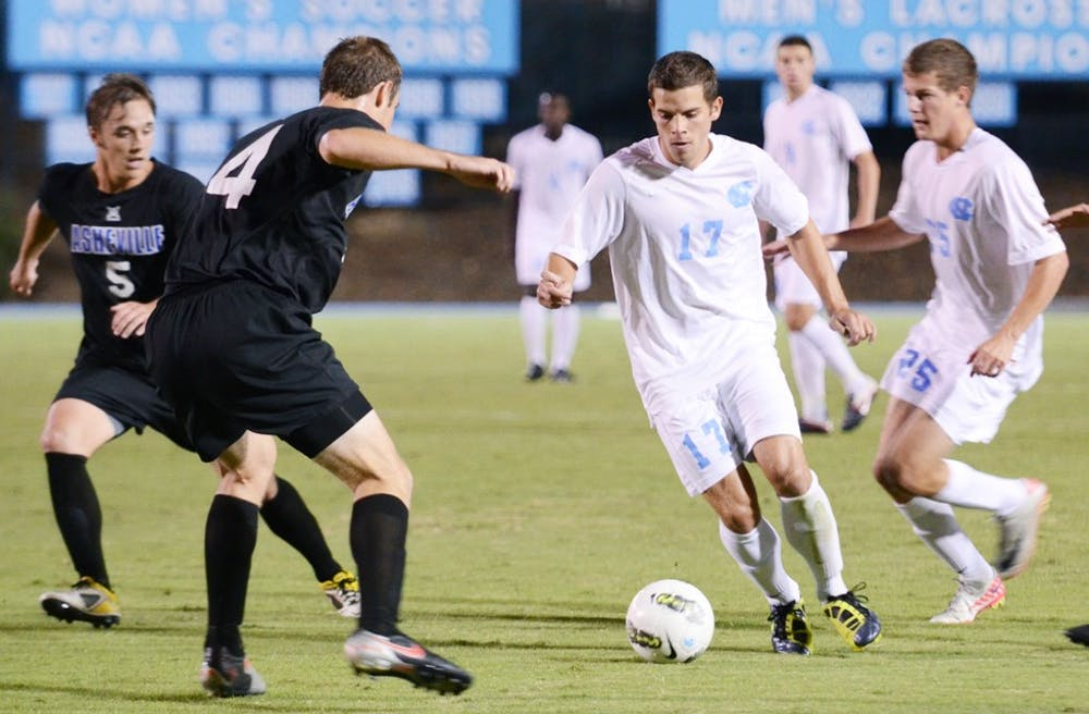 UNC beats UNC-A in overtime with Lovejoy goal