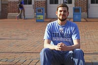 """UNC graduate Philip Maness says he wrote the first draft of """"I Don't F*ck with Duke"""" in about an hour."""