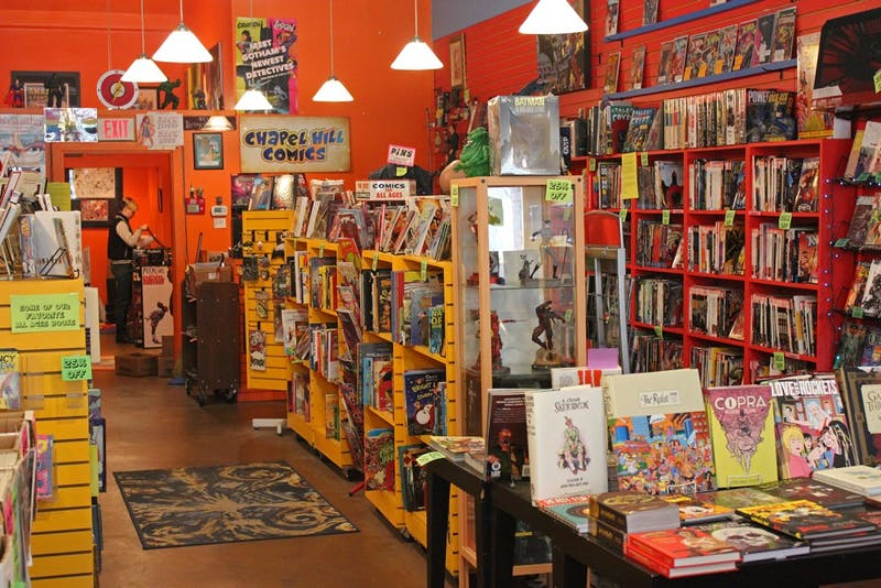 Chapel Hill Comics will be permanently closing its doors at the end of March