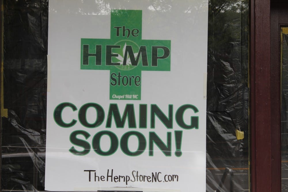 The Hemp Store on Thursday October 25, 2018 is opening soon on Franklin Street.