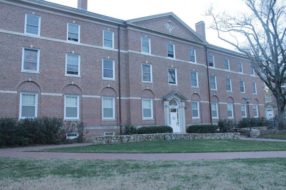 UNC first-year reports being followed across campus, into dorm by stranger