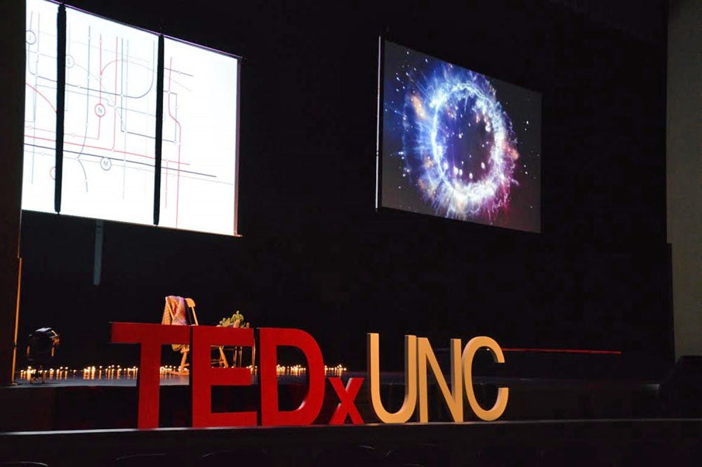 TEDxUNC addressed the meaning of home