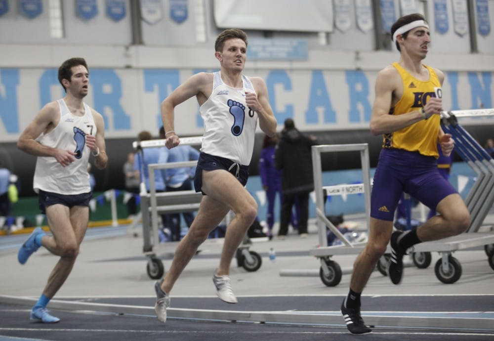 Check out the announced schedule for UNC track and field's 2020 season