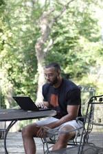<p>Jake Lawler sitting down to write.</p><p>Photo courtesy of Jake Lawler.</p>