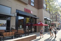 B. Good opened next to Target on Franklin, and serves food from sustainable sources.
