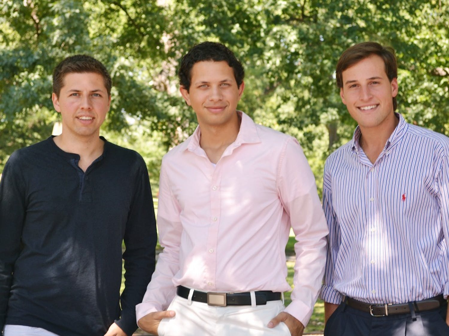 Jeff DeLuca, class of 2012, Matt Hughes, graduate student, and Greg Steele, senior  are all political science majors who have entered the political world.