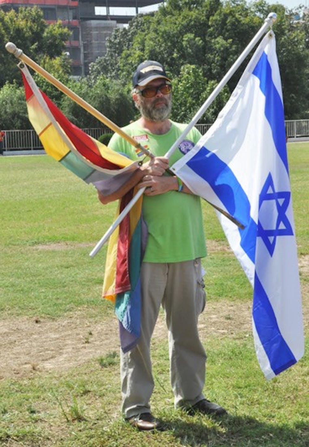 Rebbitizen Jernigan (Husband of the Rabi of Beth David, serves all gay jews)DOMO Protest