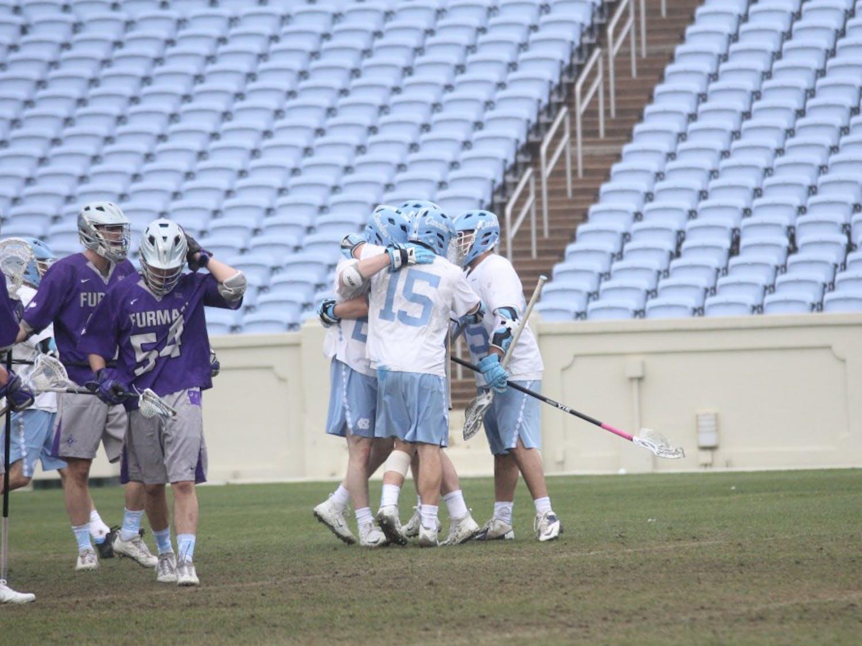 Men's lacrosse vs. Furman 2-10-18