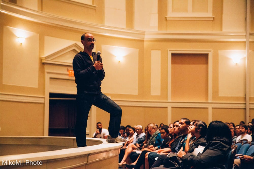 The brief, wondrous visit of Junot Diaz at UNC
