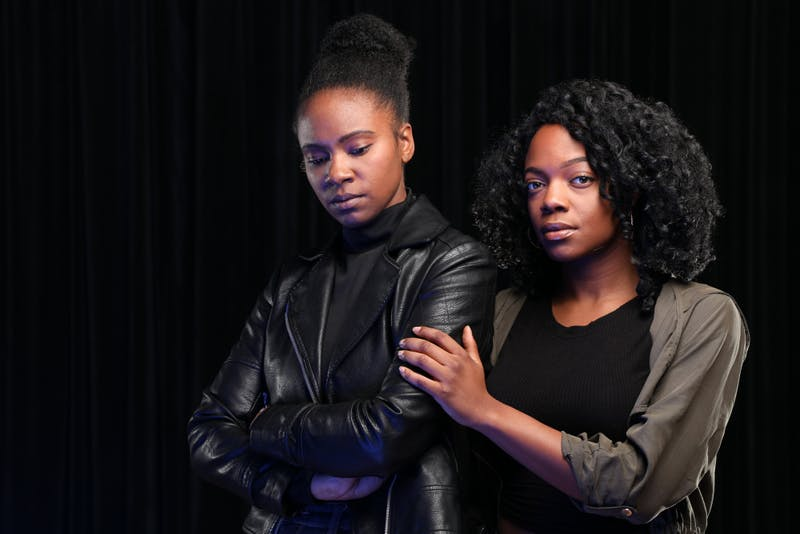 Shanelle Nicole Leonard and April Mae Davis to star as Judy and Fay in JUMP by Charly Evon Simpson Photo By Ken Huth