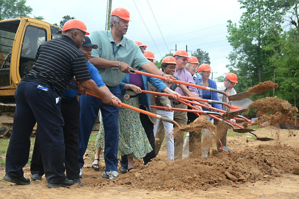 Rogers Road Community Center breaks ground