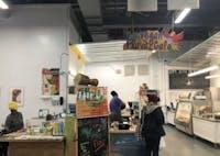 Yah-I Ausar Tafari Amen and his wife, Ma'at em Maakheru, started Vegan Flava Cafe in Blue Dogwood Public Market.