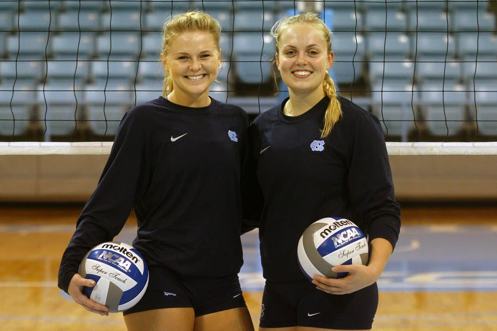 Setters for UNC volleyball team use their differences to their advantage
