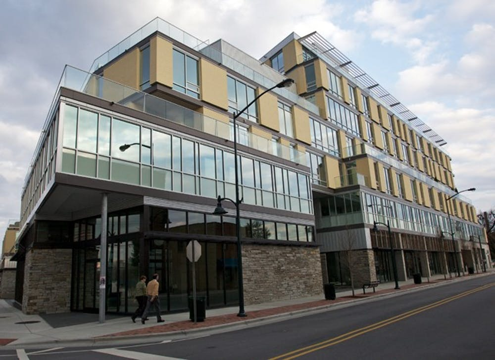 <p>Greenbridge opened in October and has struggled to fill its spaces, due in some part to the surrounding neighborhood, developers say.</p>