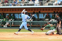 UNC baseball beat Miami 4-1 on Sunday March 17, 2013, to clinch the series.