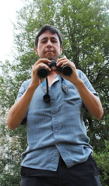 Allen Hurlbert is a biology professor and researcher at UNC. He studies migratory patterns and other behavior of birds, particularly those that live along the east coast. (Check w/ writer about this, this is what I heard at interview).