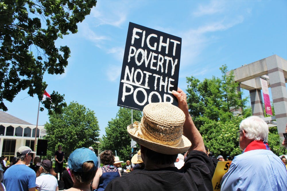 'Forward together, not one step back': N.C. Poor People's Campaign holds rally