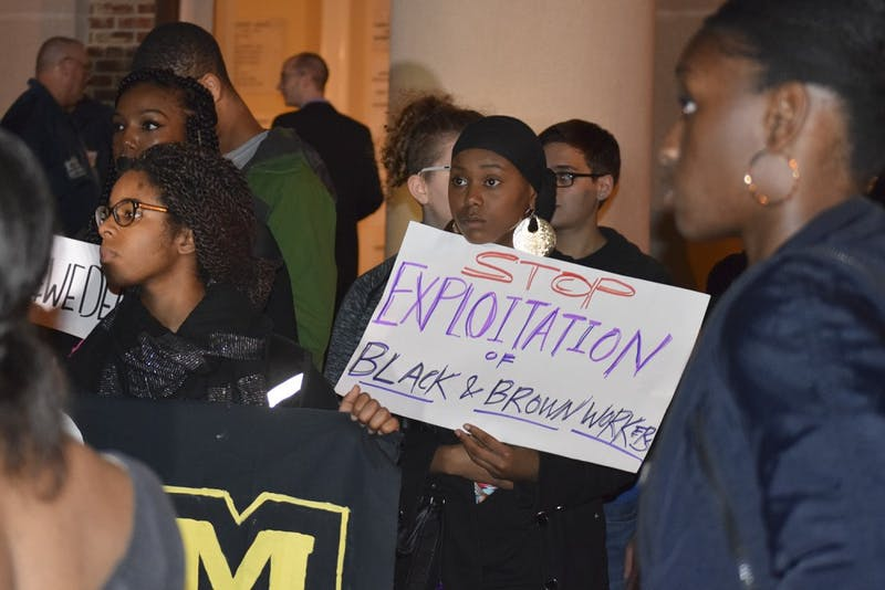 On November 19th UNC held a town hall meeting on race and inclusion at the university.