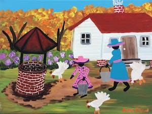 Artist Irene Tison's artwork will be on display at until Jan. 4. Courtesy of Irene Tison.