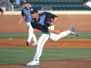 Zac Gallen opened the game as pitcher against Campbell during Tuesday night's game.