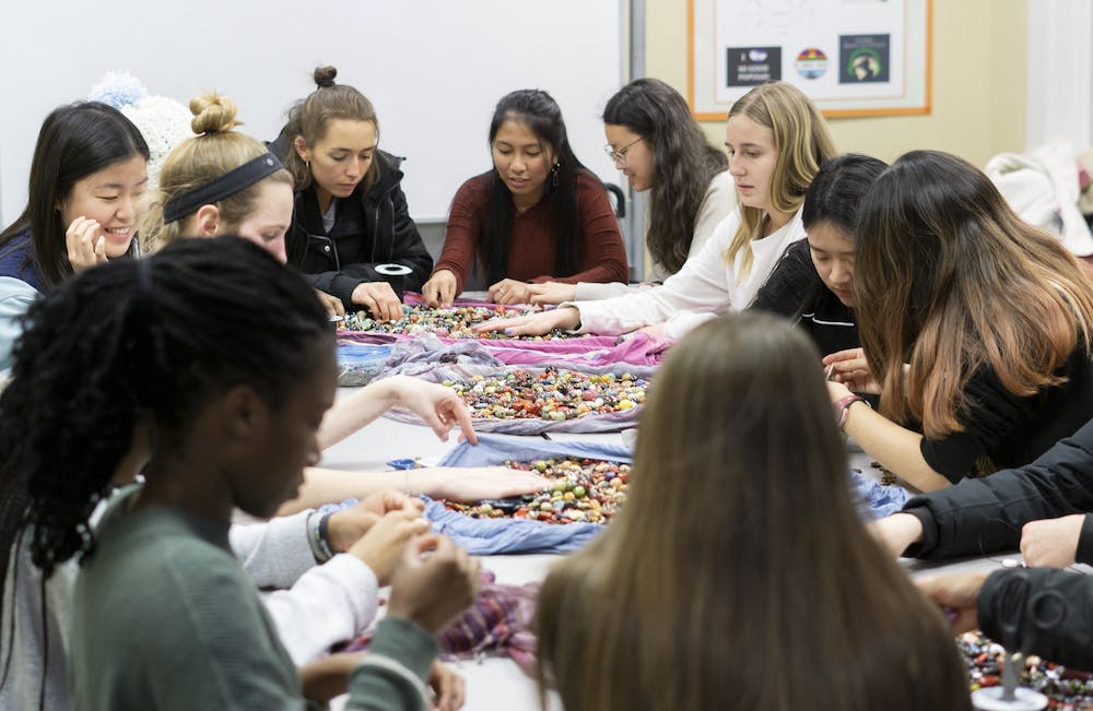 Bead by bead, Campus Y organization raises funds for Kenyan children's home
