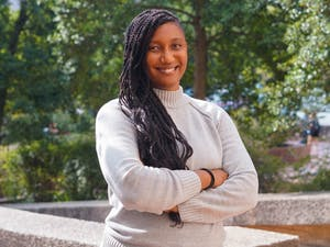Shannon Malone Gonzalez, Ph.D., is a new UNC associate sociology professor. She researches the health and wellness of communities of color.