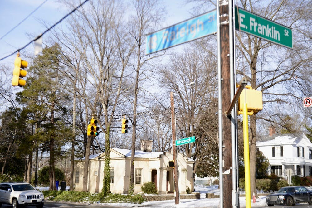 Thank you, town of Chapel Hill, for the new left turn light