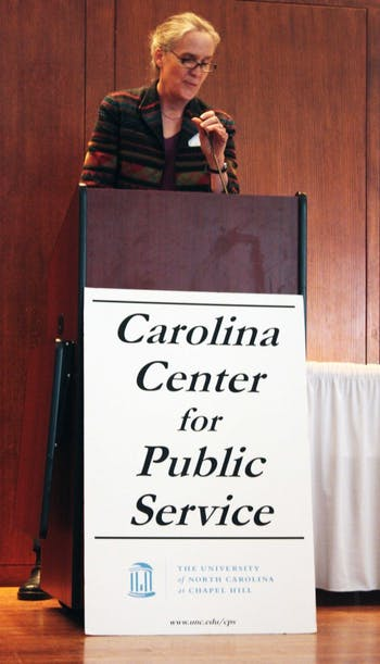 The Carolina Center for Public Service hosted it's annual Public Service awards in the Alumni Center. The awards honors students and faculty that have better the community through service and programs. 