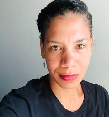 Rhema Bland is the newly appointed director of the Ida B. Wells Society for Investigative Reporting at the UNC Hussman School of Journalism and Media. Photo courtesy of Rhema Bland.