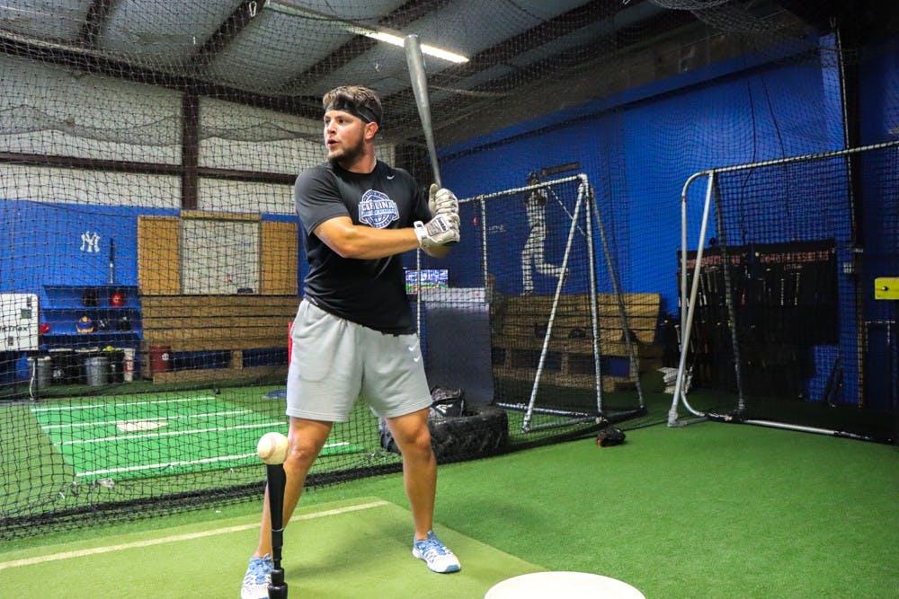 Former UNC minor leaguer stays focused as his season slips away
