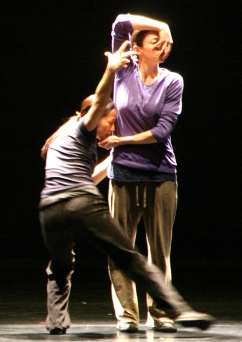 "rehearsing for ""The Second Person""