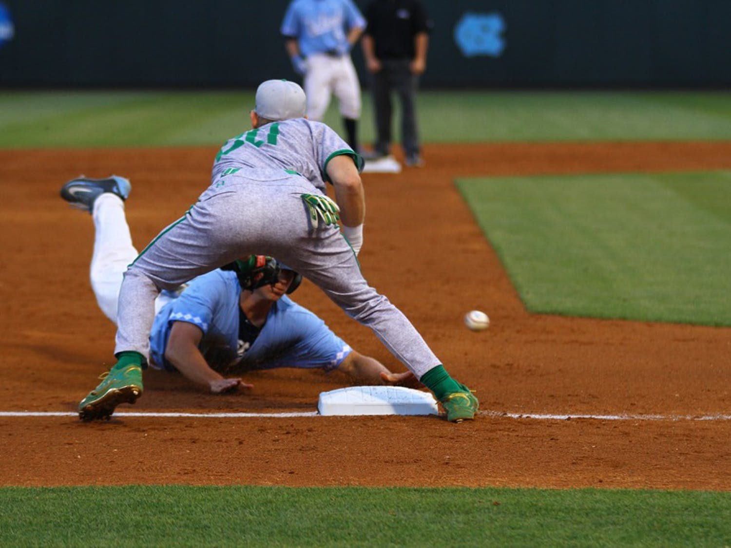 UNC baseball defeated Notre Dame in a three-game series last weekend.