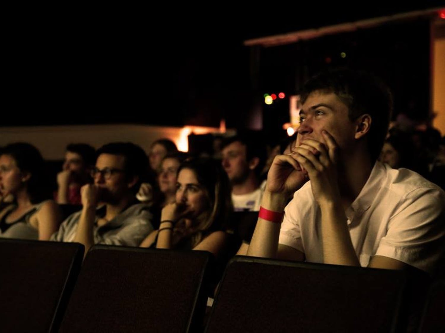 The Swain Lot Film Festival features films made by UNC students. Photo courtesy of Hollie Rutledge.