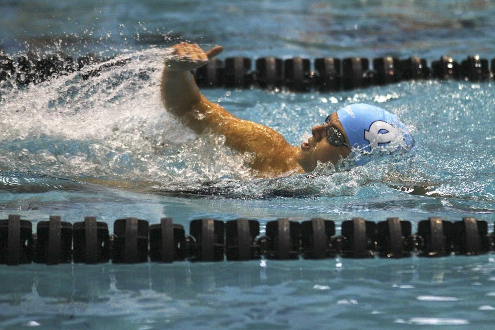 UNC men's swimming and diving snags third-place finish in ACC Championships