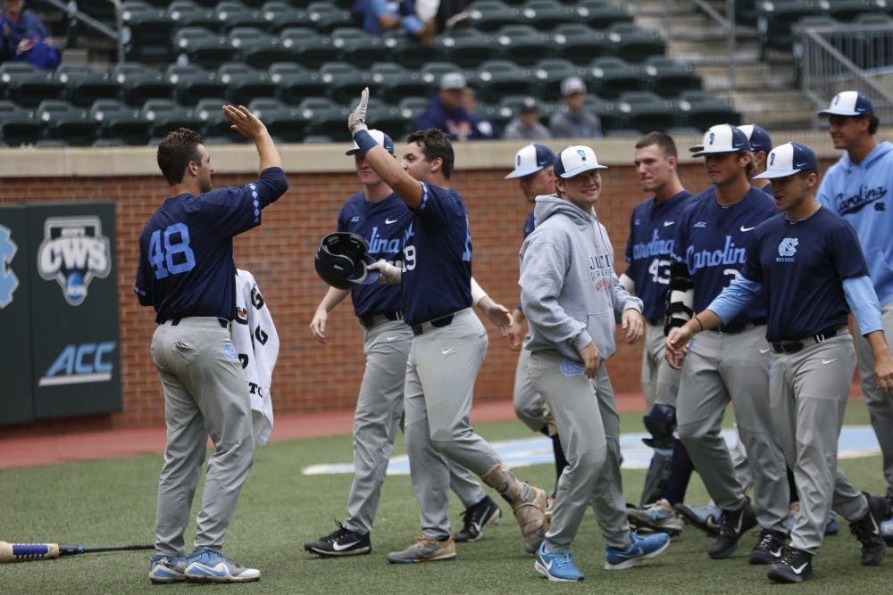 Recap: Blue beats Navy in 2018 UNC baseball Fall World Series