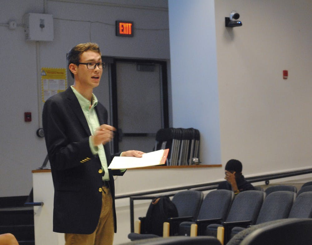 College Republicans and Young Democrats debated state and national policies