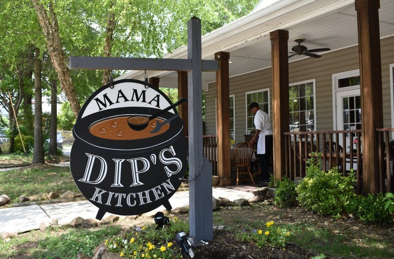 Mama Dip's Kitchen has been open on Rosemary St. in Chapel Hill since 1976.