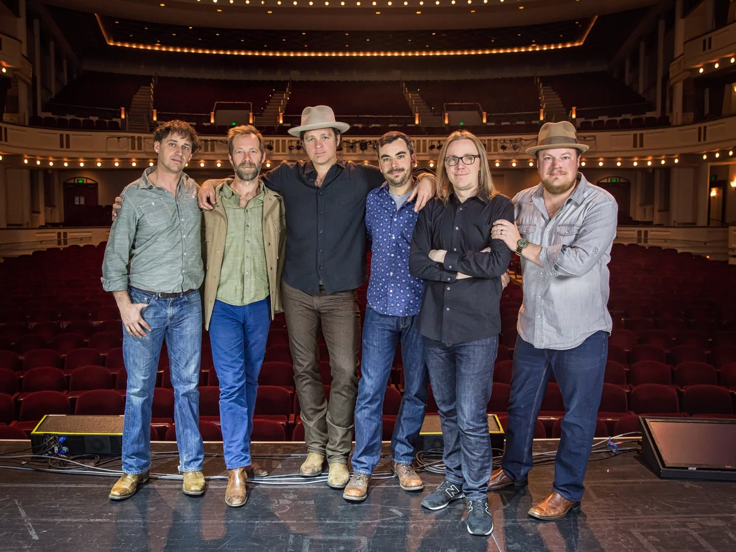 Steep Canyon Rangers, a band formed by UNC alumni, has made waves in the bluegrass scene and earned three grammy nominations. Photo courtesy of Shelly Swanger.