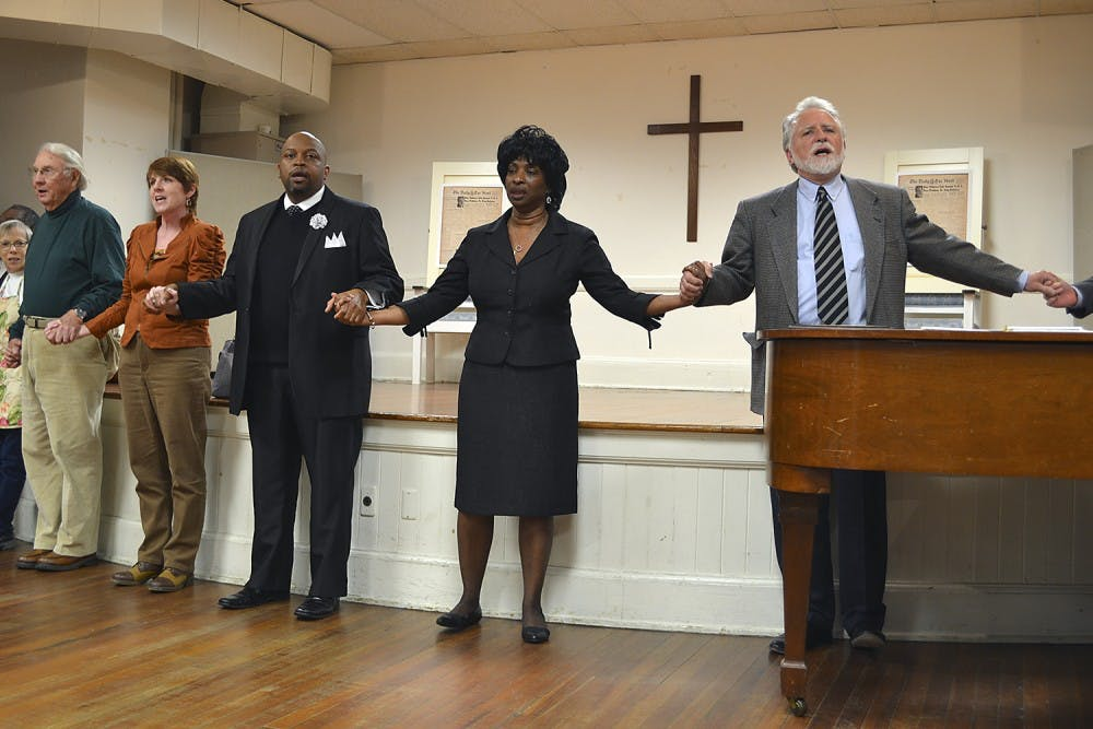 University Baptist Church honors Martin Luther King Jr. with dedication for 1960 speech