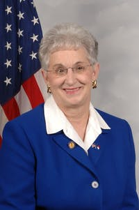 U.S. Rep. Virginia Foxx, R-N.C., is the chairwoman of the committee proposing the PROSPER Act. The act would be the first changes to the Higher Education Act of 1965 since 2008. Photo courtesy of Foxx.